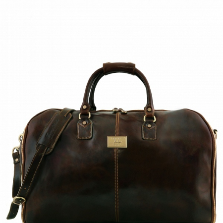 Дорожная сумка Tuscany Leather Antigua Dark Brown