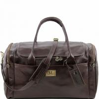 Дорожная сумка Tuscany Leather TL Voyager Dark Brown Большая