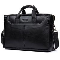 """Деловая сумка Bostanten B10023-15 black под ноутбук 15"""""""