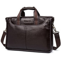"Деловая сумка Bostanten B10023-13 brown под ноутбук 13"""