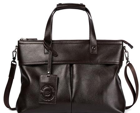 Деловая сумка Bostanten B1162043 brown