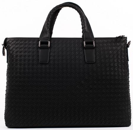 Кожаная сумка BV 68126-3 black