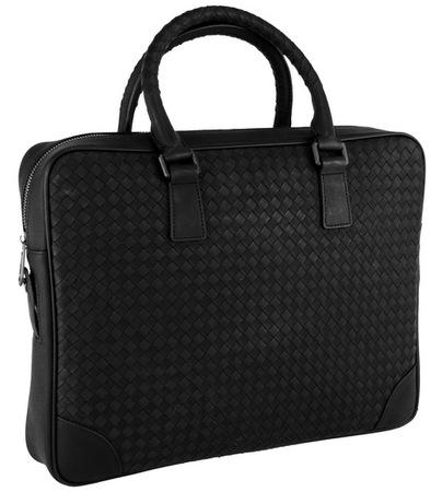Кожаная сумка BV 7121 black