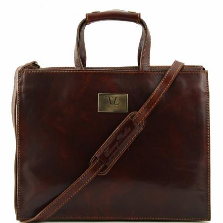 Портфель Tuscany Leather Palermo Brown