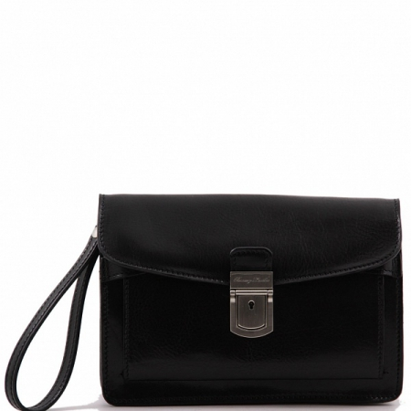 Борсетка Tuscany Leather Max Black