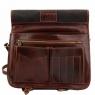 Деловая сумка-мессенджер Tuscany Leather Capri Brown