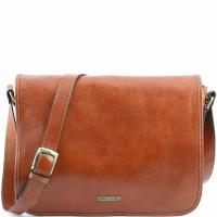 Сумка-мессенджер Tuscany Leather TL Messenger Honey Большая