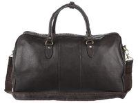 Дорожная сумка Ashwood Leather Charles dark brown