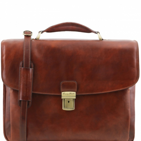 Портфель Tuscany Leather Alessandria Brown