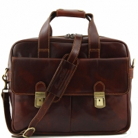 Деловая сумка Tuscany Leather Reggio Emilia Brown