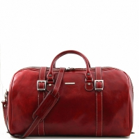 Дорожная сумка Tuscany Leather Berlin Red Большая