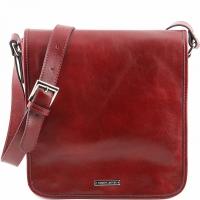 Сумка через плечо Tuscany Leather Messenger Red