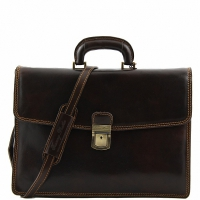 Портфель Tuscany Leather Amalfi Dark Brown
