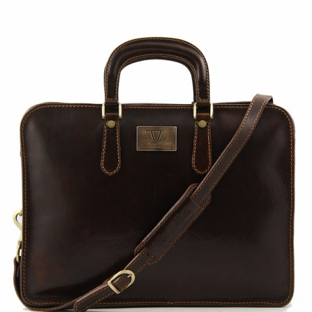 Портфель Tuscany Leather Alba Dark Brown