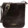 Сумка через плечо Tuscany Leather TL Messenger Dark Brown Маленькая