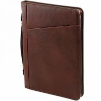 Папка-портфель Tuscany Leather Claudio Brown