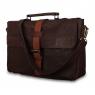 Кожаный портфель Ashwood leather Doris Brown/Cognac
