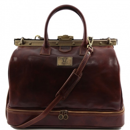 Дорожный саквояж Tuscany Leather Barcellona TL141185 brown