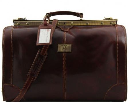 Саквояж Tuscany Leather Madrid - Большой размер TL1022 brown