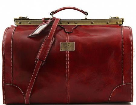 Саквояж Tuscany Leather Madrid - Большой размер TL1022 red