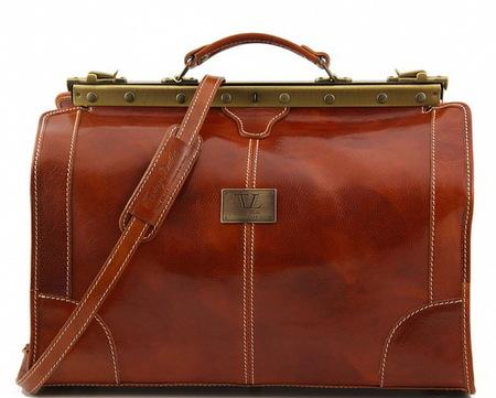 Саквояж Tuscany Leather Madrid - Малый размер TL1023 honey