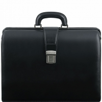 Портфель-саквояж Tuscany Leather Canova Black