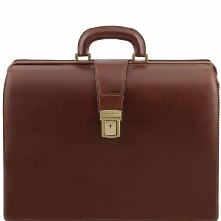 Портфель-саквояж Tuscany Leather Canova Brown