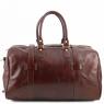 Дорожная кожаная сумка с пряжками Tuscany Leather TL Voyager Honey