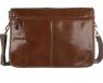 Сумка Ashwood leather Edward Chestnut Brown