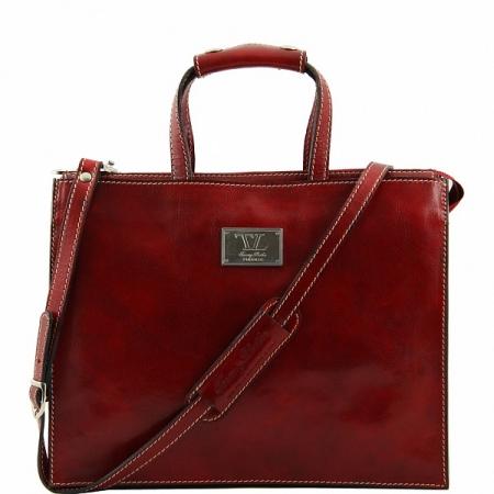 Портфель Tuscany Leather Palermo Red