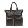 Бизнес-сумка Gianni Conti 1752258 black grey