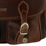 Дорожная сумка Tuscany Leather San Marino Dark Brown