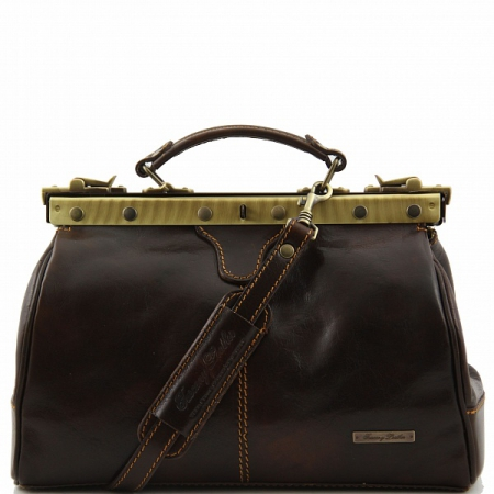 Саквояж Tuscany Leather Michelangelo Dark Brown