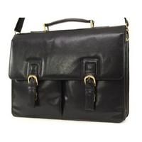 Портфель Ashwood leather Gareth Black