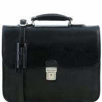 Портфель для ноутбука Tuscany Leather Vernazza Black