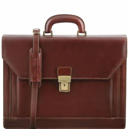 Портфель Tuscany Leather Napoli Brown