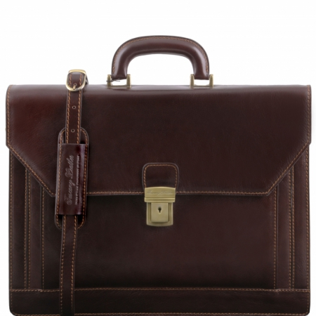 Портфель Tuscany Leather Napoli Dark Brown