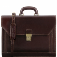 Портфель Tuscany Leather Napoli Dark Brown