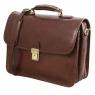 Портфель для ноутбука Tuscany Leather Vernazza Dark Brown