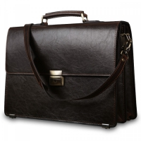 Портфель Jack's Square Denver Brown