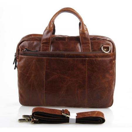 Деловая сумка JMD 7092-2B Brown