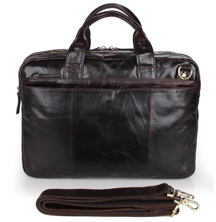 Деловая сумка JMD 7092-3C coffee