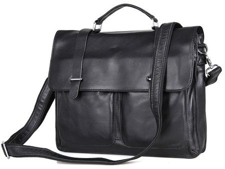 Кожаный портфель JMD 7100A