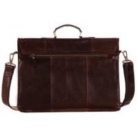 Портфель JMD 7105-2C Glossy Dark Brown