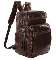 Кожаный рюкзак JMD 7202C сoffee