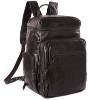 Кожаный рюкзак JMD 7202J grey