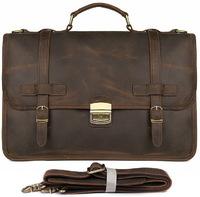 Кожаный портфель JMD 7397R