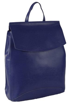 Женский кожаный рюкзак JMD 8504-1 blue
