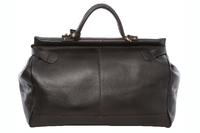 Саквояж Ashwood Leather Gladstone dark brown