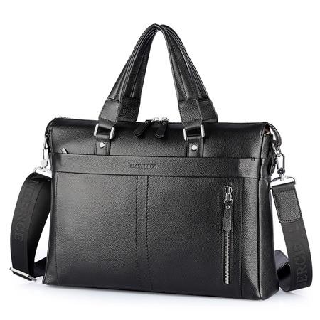 Деловая сумка Manberce P102-1 black